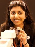 Kirtana Vallabhaneni, 17, beat 360 other entrants to be awarded the prize at The Big Bang Fair at Birmingham's NEC