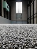"London gallery Tate Modern bought Chinese artist Ai Weiwei's ""sunflower seeds"", a work made up of 10 tons of porcelain seed replicas"