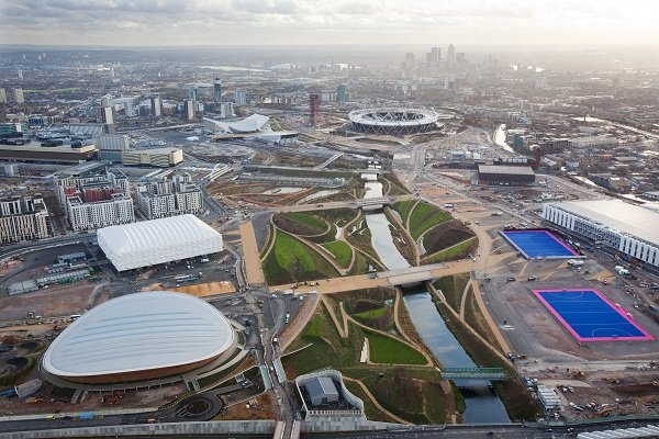 Aerial shoot: Olympic Park