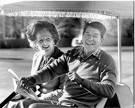 Margaret Thatcher and Ronald Reagan famously forged a close, though often tempestuous, relationship during their time in power