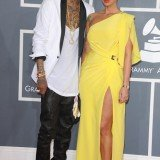 Model Amber Rose and rapper Wiz Khalifa have confirmed they got engaged