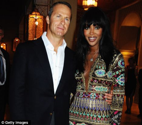 Naomi Campbell started dating tycoon Vladimir Doronin after meeting him at the Cannes Film Festival in 2008