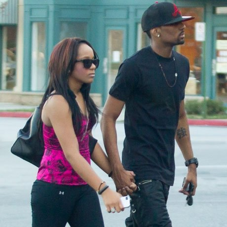 Nick Gordon and Bobbi Kristina Brown couldn't have seemed happier during a trip into the AT&T store in Roswell, Georgia
