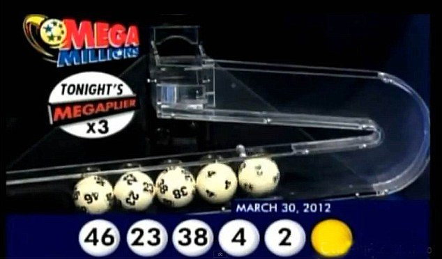 Only two of the three holders of the $640 million Mega Millions jackpot have collected their lotery prize