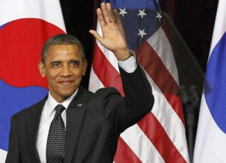 "President Barack Obama said he is pushing for ""a world without nuclear weapons"" ahead of Seoul Nuclear Security Summit"