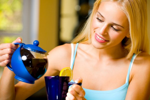 ... cups of tea a day may help boost a woman's chances of becoming pregnant