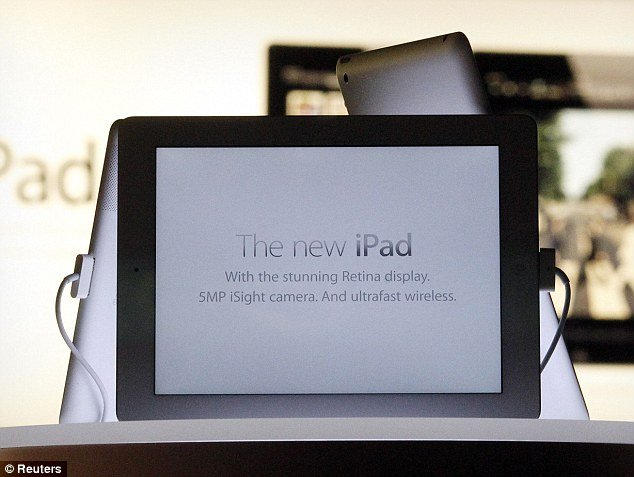 Reviewers are gushing over the new iPad 3.1million pixel screen, comparing the experience to that first moment of putting on prescription glasses after years of poor eyesight