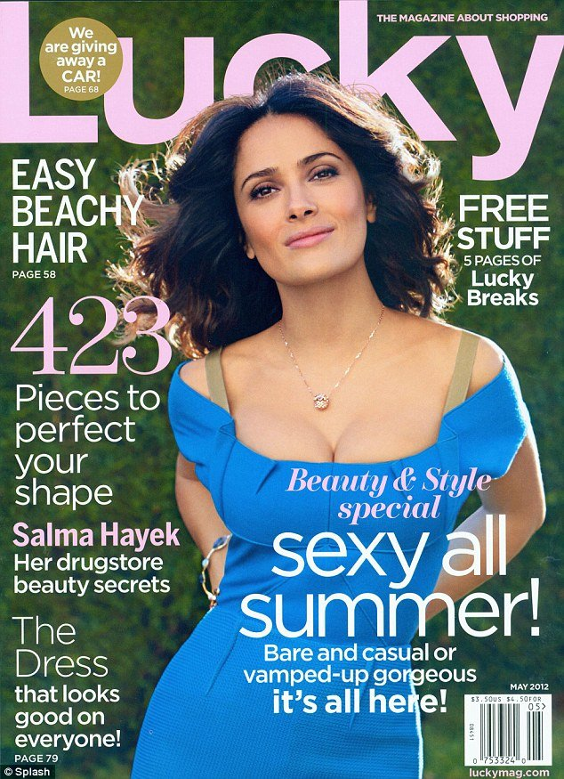 Salma Hayek admits that life wasn't all hunky dory as far as her looks are concerned photo
