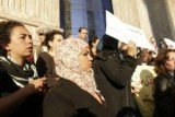 Samira Ibrahim and other women spoke out about their treatment following their arrest during a protest in Tahrir Square in March 2011, weeks after the fall of President Hosni Mubarak