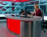 Simon McCoy, the BBC Breakfast show presenter, has been caught apparently asleep on his desk during this morning show