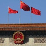 Six Chinese bloggers have been arrested and police shut 16 websites after rumors were spread that military vehicles were on the streets of Beijing