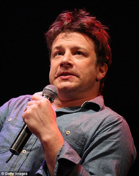 The celebrity chef Jamie Oliver was not so happy when he was questioned about his own diet in Australia this week