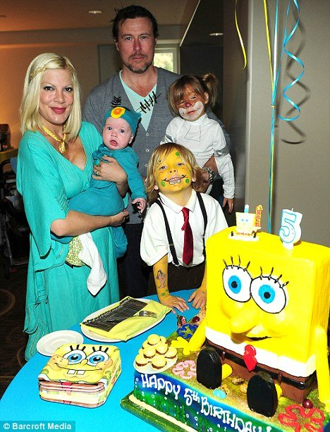 Tori Spelling has announced she is pregnant with her fourth child