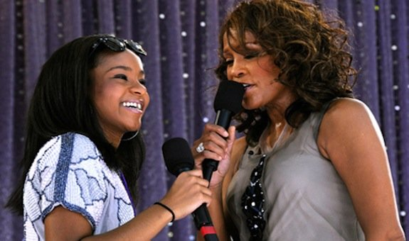 Whitney Houston and her daughter Bobbi Kristina shared the same drug dealer claims a new shocking report photo