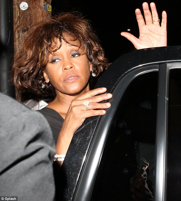 Whitney Houston had cocaine in her system when she drowned in the bathtub at Beverly Hilton Hotel