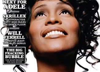 Whitney Houston has been featured in the latest issue of popular music magazine Rolling Stone