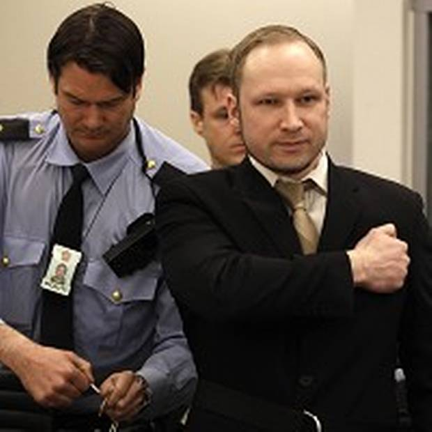 Anders Behring Breivik has pleaded not guilty at the start of his trial in Oslo