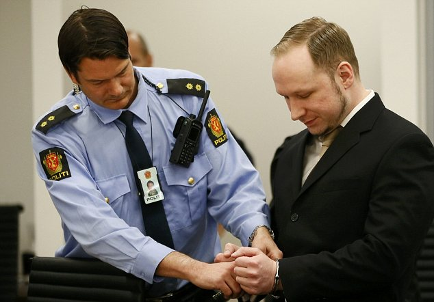 "Anders Breivik has told his trial in Oslo he believes there can be only two ""just"" outcomes to his trial, acquittal or the death penalty"