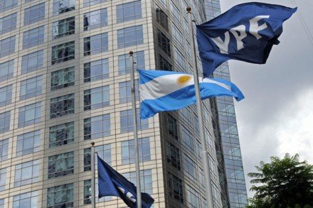 Argentina has decided to nationalize a controlling interest in country's biggest oil company YPF owned by Spanish firm Repsol photo