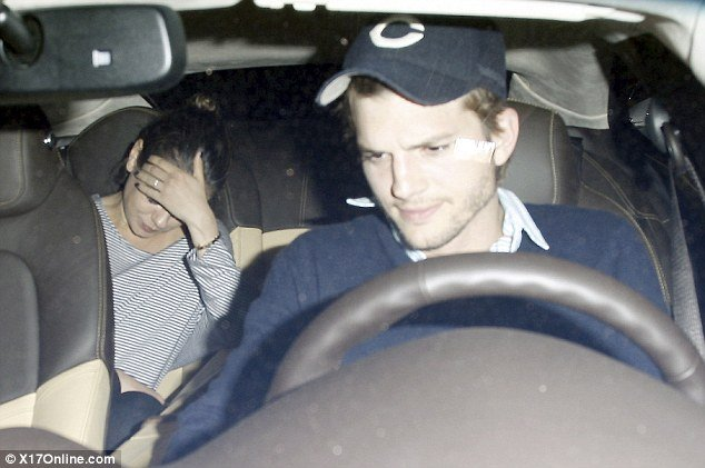 Ashton Kutcher and Mila Kunis were spotted out on what appeared to be a day-long date in Los Angeles on Sunday
