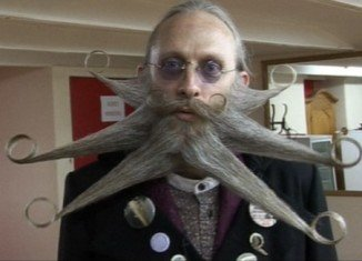 Beards from around the world have travelled to Bad Schussenried and took part in 18 categories, including Imperial Moustaches, Dali Moustaches and Chin Beard Freestyle