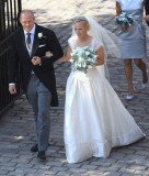 British Princess Anne's daughter Zara Phillips married England rugby star Mike Tindall
