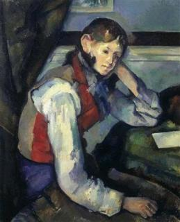 Cezanne's Boy in a Red Waistcoat was stolen from Zurichs Emil Georg Buehrle Collection in 2008 photo