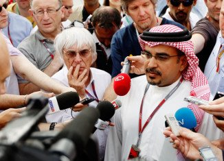 Crown Prince Salman bin Hamad Al Khalifa of Bahrain says the weekend's Formula 1 Grand Prix will go ahead despite protests
