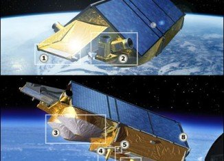 Cryosat was launched in 2010 to monitor changes in the thickness and shape of polar ice