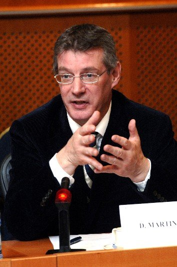 Euro MP David Martin said ACTA should be rejected by the European Parliament