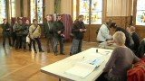 French turnout in the first round of the presidential election was more than 80 percent, one of the highest in the world