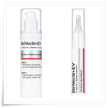 Get Even Brightening Serum and Get Even Spot Repair from StriVectin