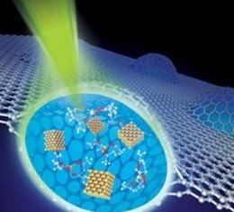 Graphene can form a clear window to see liquids at higher resolution than was previously possible using transmission electron microscopes