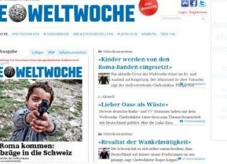 "Headlined ""The Roma are coming"", Die Weltwoche's publication amounts to racial incitement, the Central Council of German Sinti and Roma says"