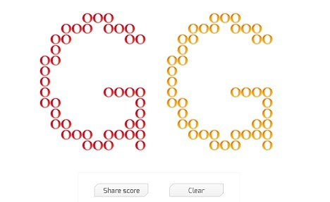"If you search for ""Zerg Rush"" on Google the colored letters ""O"" turn into aliens that devour the page photo"
