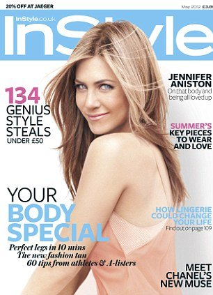 In a recent interview with InStyle magazine, Jennifer Aniston says 2012 for her will be about enjoying life with her new man Justin Theroux
