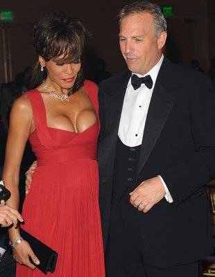 Kevin Costner sent secret letters to Whitney Houston after her aides asked him to boost her morale during the lowest times of her life