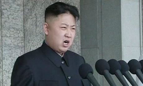 Kim Jong-Un has made his first televised speech, as Pyongyang marks the 100th anniversary of the birth of North Korea's founder, Kim Il-Sung