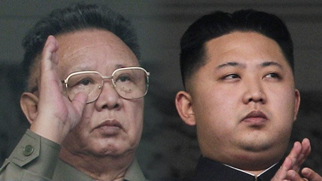 Kim Jong Un was kept from public view until September 2010 when he was 27 years old and appeared with his father Kim Jong Il photo