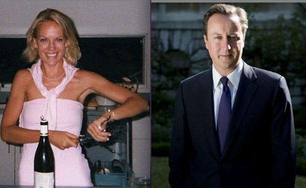 Laura Adshead dated David Cameron from the spring of 1990 until summer 1991 photo