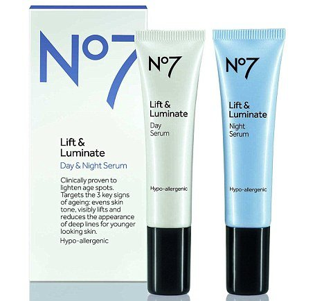 Lift Luminate Day Night Serum goes on sale on April 18 and claims to reduce the appearance of fine lines and firm up skin photo