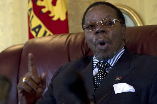 Malawian government has confirmed that President Bingu wa Mutharika has died aged 78 photo