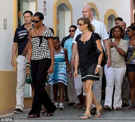 Michelle Obama's tour of Spain in 2010 better have been a once in a lifetime trip, because her getaway cost taxpayers nearly $500,000