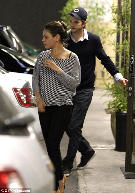 Mila Kunis and Ashton Kutcher enjoyed a three-day getaway to the coastal town of Carpinteria