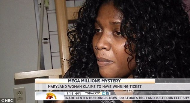 Mirlande Wilson claims that the winning ticket is hidden somewhere in the McDonald's restaurant where she works
