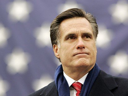 "Mitt Romney has vowed to take the White House from President Barack Obama and end four years of ""disappointments"""