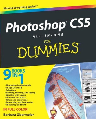 Photoshop CS5 All-In-One For Dummies had been downloaded 74,000 times over 16 months