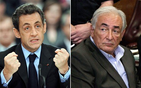 President Nicolas Sarkozy has rejected claims by Dominique Strauss Kahn that his party was behind former IMF chiefs downfall photo