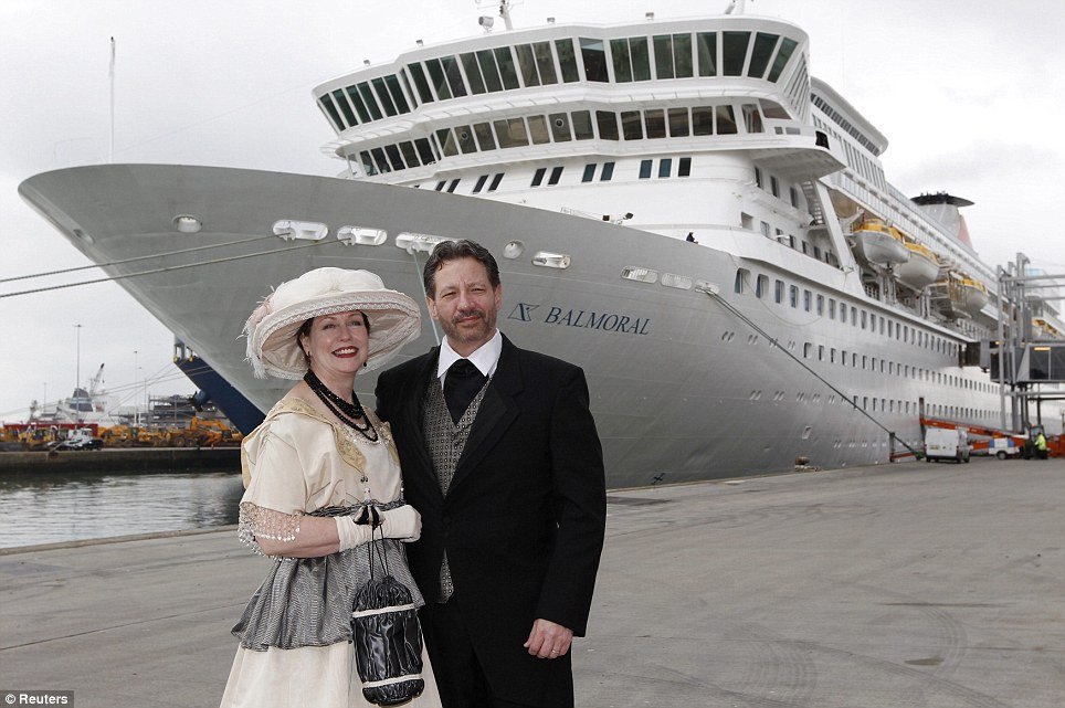 Relatives of some who died on the Titanic have set sail aboard of MS Balmoral to retrace the journey of the doomed liner to mark 100 years since the disaster