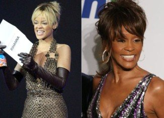 Rihanna says she would love to portray Whitney Houston if there is ever to be a biopic and a role to be played